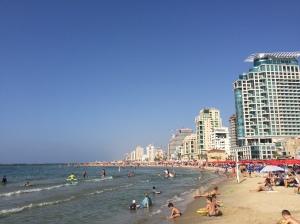 Tel-Aviv-Yafo beach