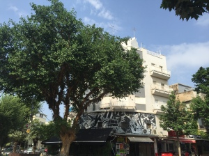 Tel-Aviv centre... one of the numberless cafes